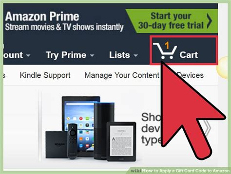 Apply Gift Card Amazon - 3 ways to apply a gift card code to amazon wikihow