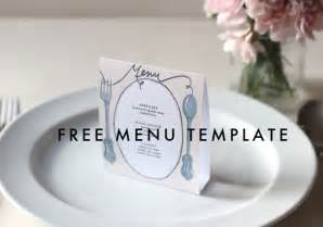 Diy Menu Template by Free Downloadable Diy Wedding Menus Etsy Weddings