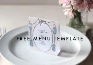 free printable menu templates for wedding free downloadable diy wedding menus etsy weddings