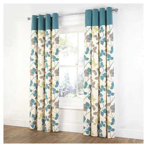 unlined curtains home and garden gt furniture tesco linear leaf unlined