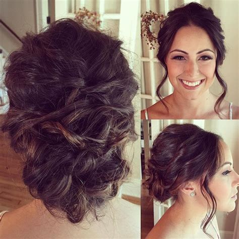 brunette bride hairstyles bridal updo brunette wedding hairstyle fave4 joico