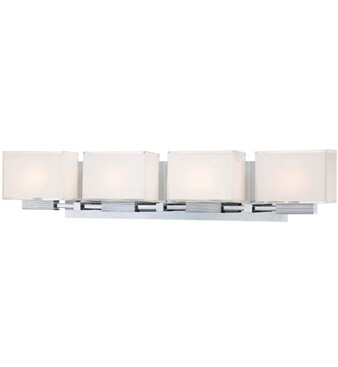 George Kovacs Cubism 4 Light Bath Vanity Light Ls Com George Kovacs Bathroom Lighting