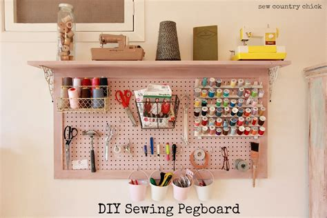 diy pegboard sewing room redo diy pegboard sew country chick diy