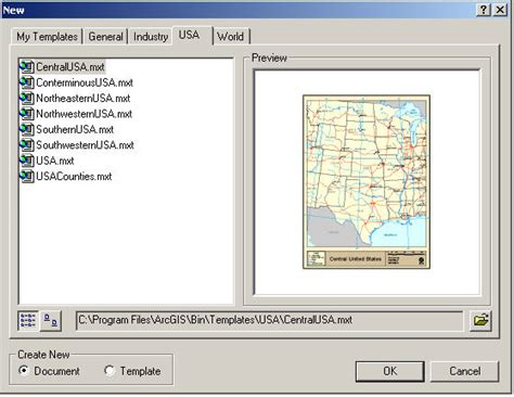 arcgis change layout template gis demo instructions part a