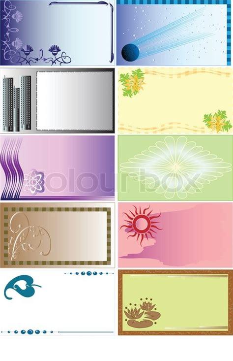 Visitenkarten Hintergrund Vorlagen Kostenlos by Einige Hintergr 252 Nde F 252 R Visitenkarten Und Nicht Nur