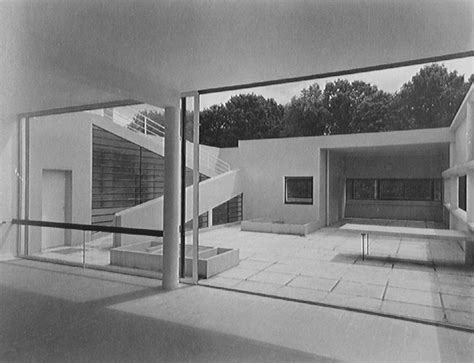 Villa Plan by Le Corbusier Villa Savoye Part 1 History