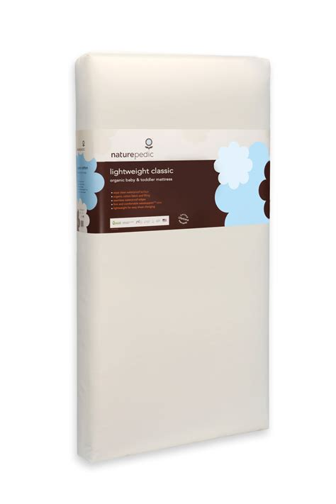 Naturepedic No Compromise Organic Cotton Classic Crib Mattress Naturepedic No Compromise Organic Cotton Classic Lightweight Crib Mattress