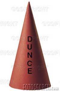 How To Make A Dunce Hat Out Of Paper - aux armes the leaning cow the leaning cow