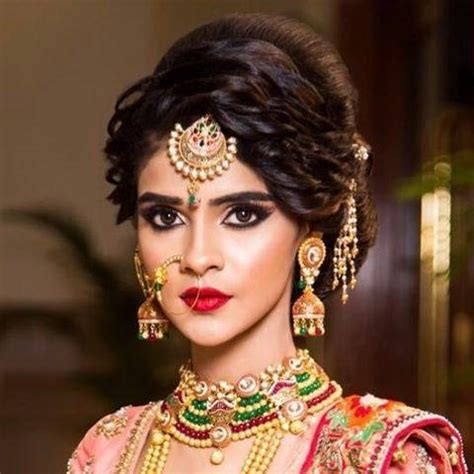 2018 indian wedding hairstyles