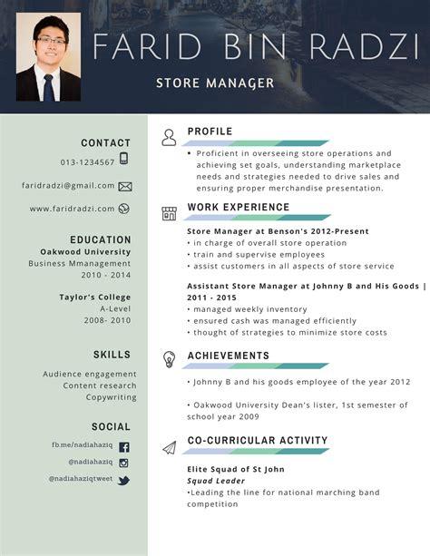Format Cv Terbaik | contoh resume terbaik buat pencari kerja mysemakan