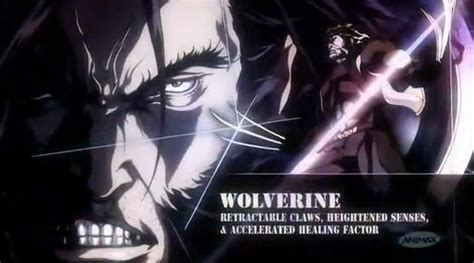 Hoodie Xmen The Wolverine 10 Anime the new anime series opening sequence geektyrant