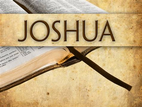 themes of book of joshua bruner s chapel blog standing on the promises a journey