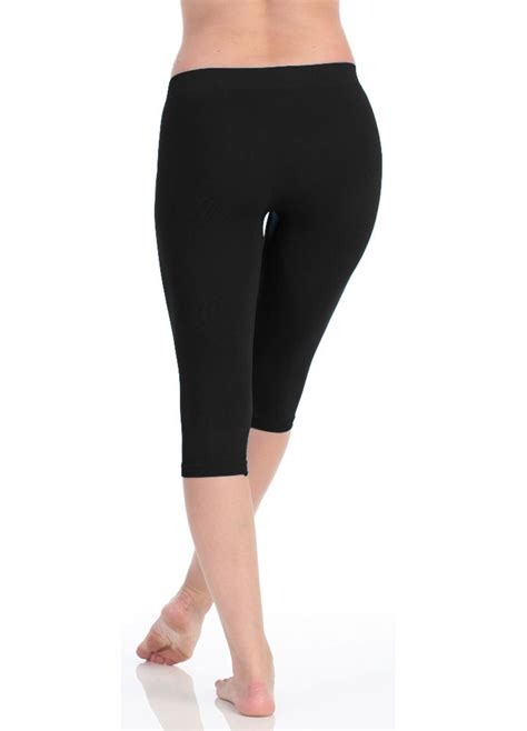 tights with comfortable waistband victoria 174 women s high waist comfortable seamless capri