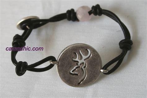 browning buckmark buttoned up bracelet