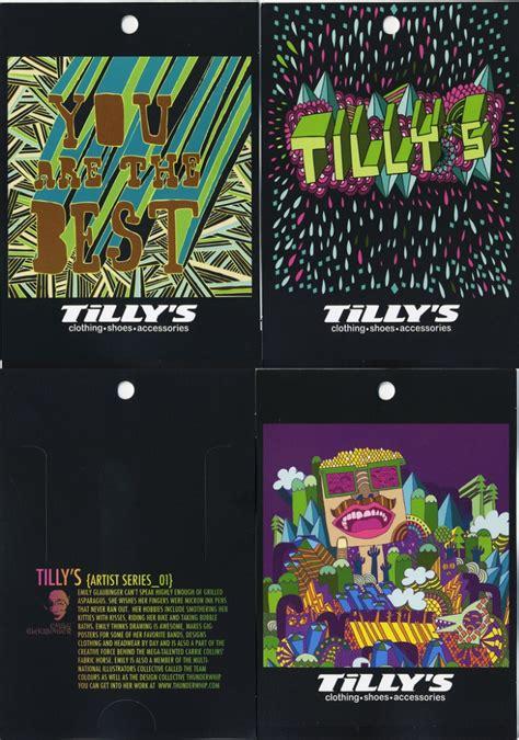 Tilly S Gift Card - illustration by emily glaubinger at coroflot com