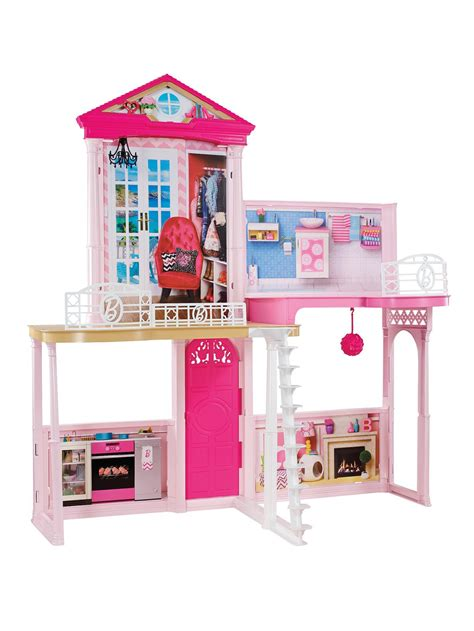 2015 barbie dream house 2006 mattel barbie 3 story dream doll house w kitchen bathroom laundry sounds mattel barbie