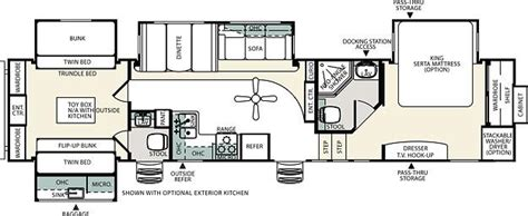 sandpiper rv floor plans 2012 forest river sandpiper 365saq fifth wheel cincinnati
