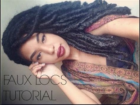 what kind of hair use for faux locs faux locs tutorial with marley hair dreadlock extentions