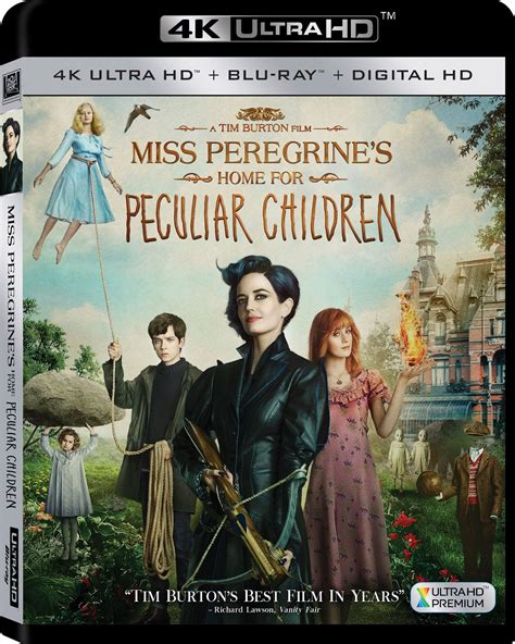 miss peregrine s home for peculiar children dvd release