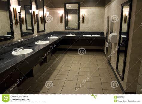 elegant public bathroom stock photos image 38597863
