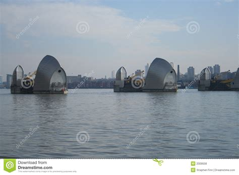 thames barrier animal clinic thames barrier london royalty free stock photos image