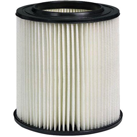 craftsman wet dry vacuum filter hepa rated material