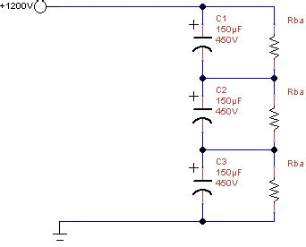 resistor in series with capacitor balance resistors for series capacitors va1der