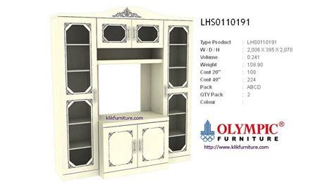 Lemari Bufet Olympic lemari hias olympic lhs0110191 emerald series sale promo