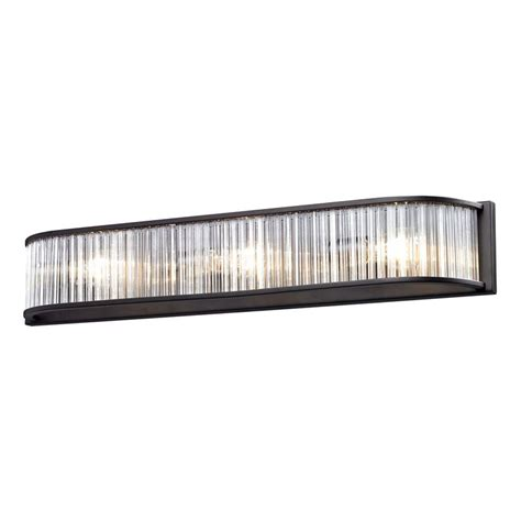 Bronze Bathroom Light Bar by Designers Tangier 3 Light Iron Bath Bar