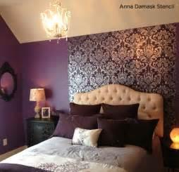 damask bedroom ideas stunningly stenciled bedroom beauties 171 stencil stories