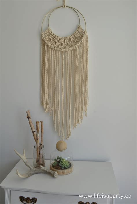 Macrame Diy - diy macrame and fringe pillows