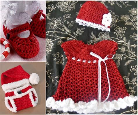 16 beautiful handmade baby gift sets with free crochet