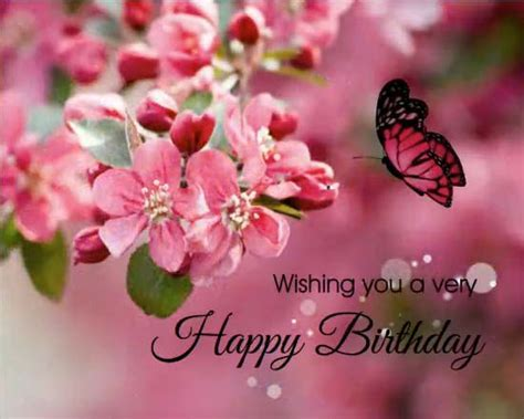 Blessing Butterflies. Free Birthday Wishes eCards