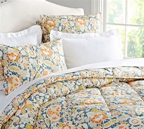 pottery barn comforters and quilts maggie floral comforter sham pottery barn