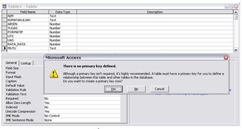 membuat database mahasiswa dengan xp membuat aplikasi database mahasiswa dengan microsoft acces