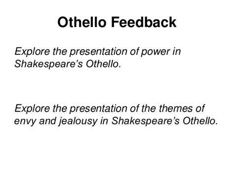 themes of the othello othello mock improvements