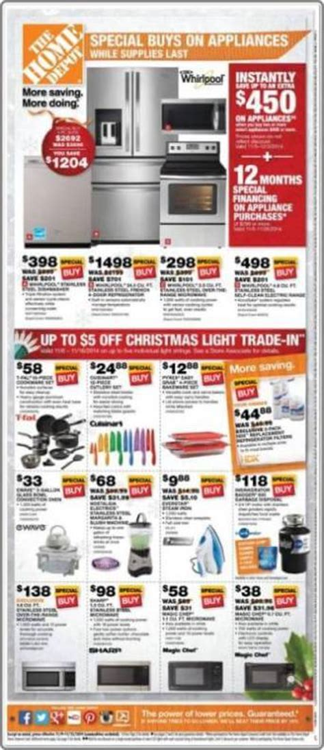 home depot early deals p6