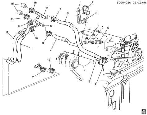 2002 chevy tahoe engine diagram 2001 chevy tahoe heater hose diagram