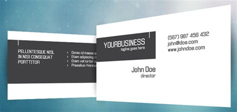 photoshop name card template 50 free photoshop business card templates the jotform