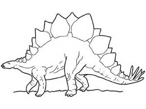 stegosaurus coloring page walking stegosaurus coloring pages hellokids