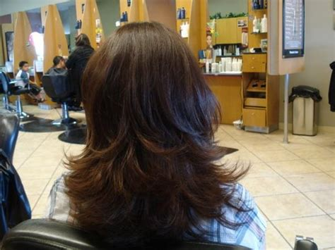 hir layer back pinterest long layer cut back view hairstyles i want to try