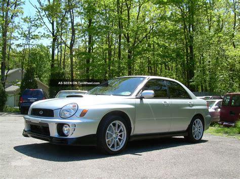 2 Door Wrx by 2002 Subaru Impreza Wrx Sedan 4 Door 2 0l