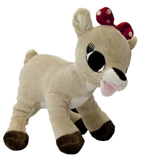 rudolph the red nosed reindeer clarice reindeer plush