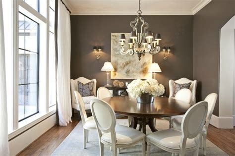 chocolate brown dining room paint color design lines ltd round back dining chairs design ideas