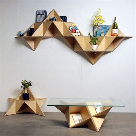 Origami Los Angeles - style trend geometric decor design angeles und tische