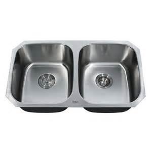 kraus kbu22 undermount basin kitchen sink
