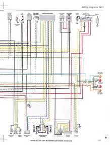 wiring diagram st1100 91 95 std 2 wire diagrams easy