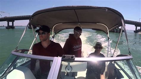 fort desoto boat r boating from st pete to fort desoto fl youtube