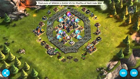 layout rival kingdoms rival kingdoms stronghold 13 base defence layout easy win