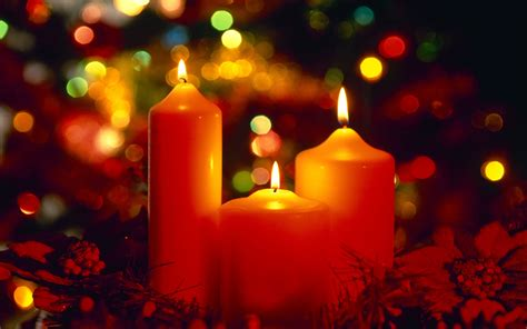 christmas candles wallpapers pictures images pics